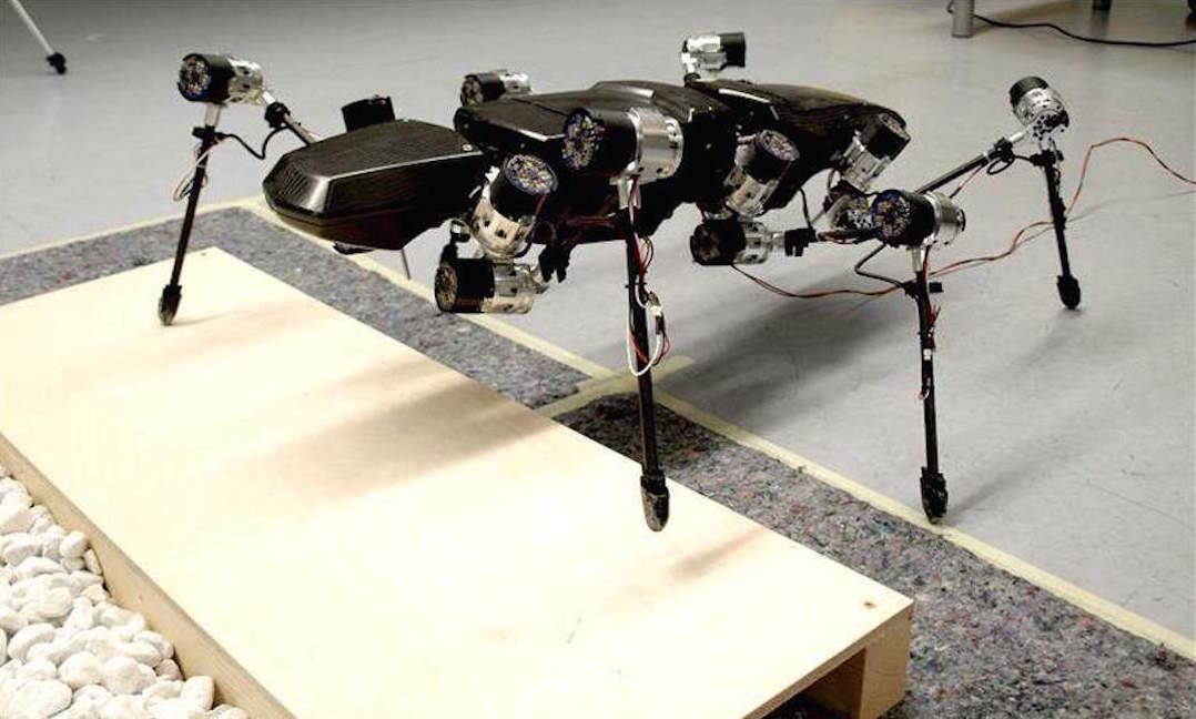 Challenges in Making a Better Six Legged Robots