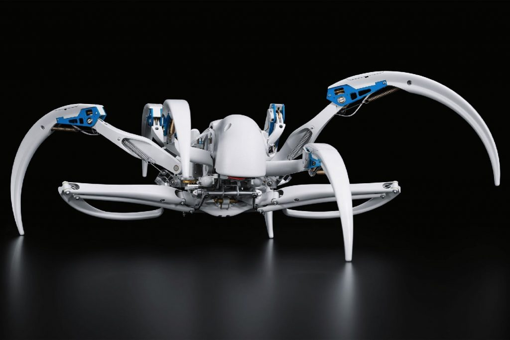 A Spider Robot That Can Make a Nest